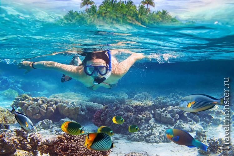 Подводное плавание в Тайланде