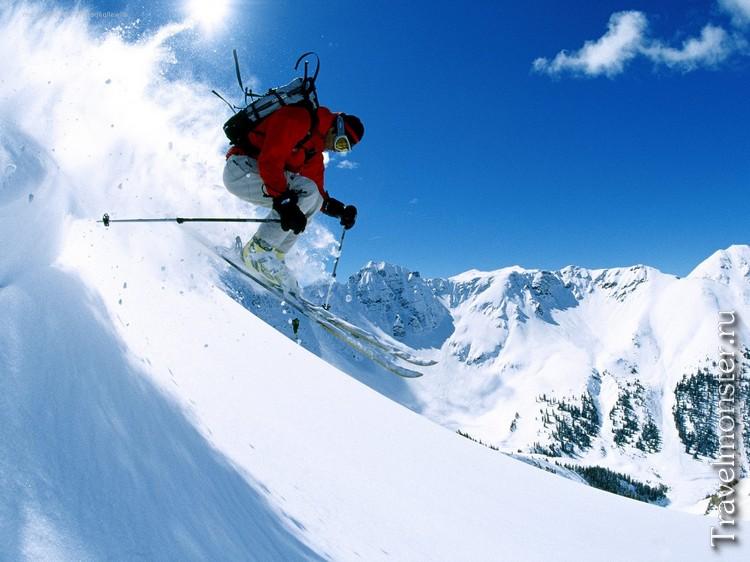 На горных лыжах в Норвегии