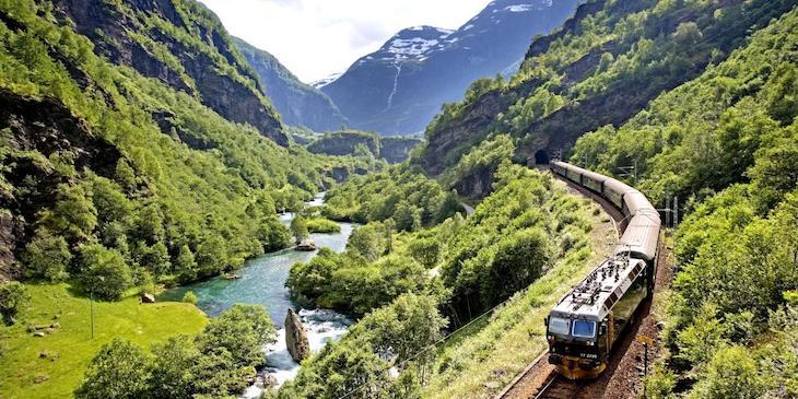 Норвежский поезд