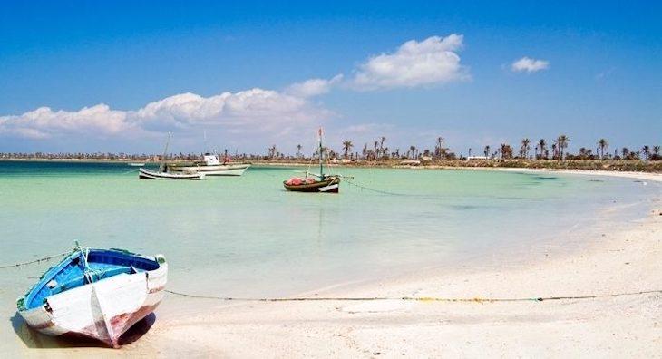 Острова Керкенна Тунис